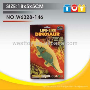Высокое качество мягкие резиновые животных крупный рогатый скот комплект со всеми отчет по испытанию
