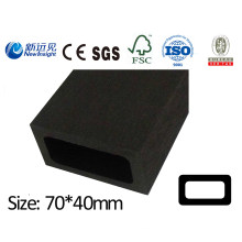 70X40mm Waterproof WPC Joist WPC Keel for Decking Flooring Wall Panel with SGS CE Fsc ISO Composite Wood Joist Keel Lhma065