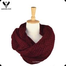 Écharpe acrylique en tricot doux de Lady