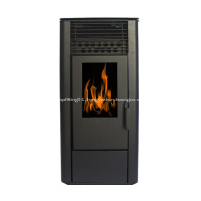Freestanding Fireplace Heater with Realistic Flame