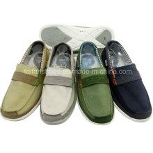 Hot Sale Fashion Men′s Shoes Slip-on Leisure Shoes Canvas Shoes