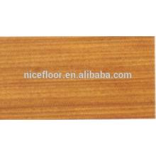 Revêtement de sol en bois multicouches en paroi multicouches Afromosia