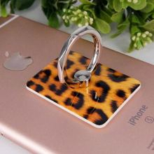 Top for Custom Plastic Phone Ring Holder Custom Fashion leopard dermatoglyphics finger ring supply to Spain Wholesale