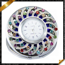 Espejo compacto, joyería del reloj de manera, reloj cristalino (MW002)