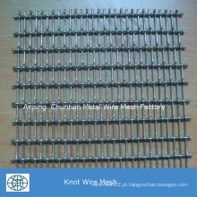 Aço inoxidável de alta qualidade 304 engranzamento de fio frisado