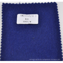 stock lot 100% wool winter overcoating fabric 680g/m