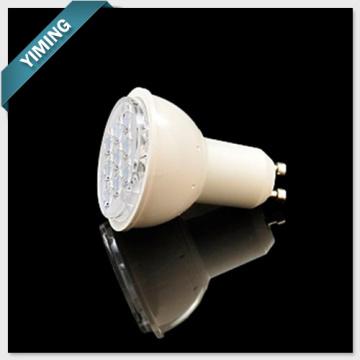 3W 9PCS 2835SMD LED Copa com lente