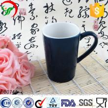 Tasse en céramique promotionnelle en gros de café de logo adapté aux besoins du client