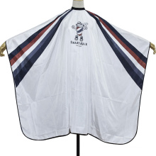 Popular New Styling Customized Logo Salon Hair Cape Barber Cape with Pattern