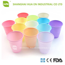 Lavender plastic dental disposable cups