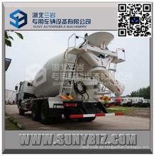 Caminhão do misturador de cimento de Shacman Delong F3000 14 Cbm
