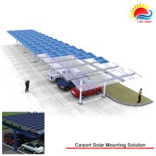 Montagem Solar com Lastro Eficiente para Telhado Plano (NM0506)
