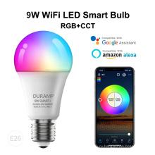 Светодиодная лампа Tuya Smart Bulb мощностью 9 Вт с технологией Wi-Fi