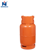 15kg lpg cylinder,big storage gas tank with valve,orange steel bottle
