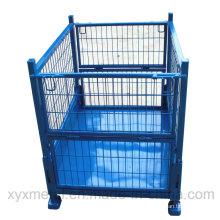 Récipient de cage à cage fixe à grillage