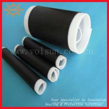 Tubo de contração a frio de borracha de silicone