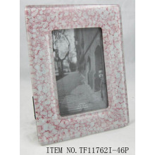 Ornate Fused Glass Photo Frame
