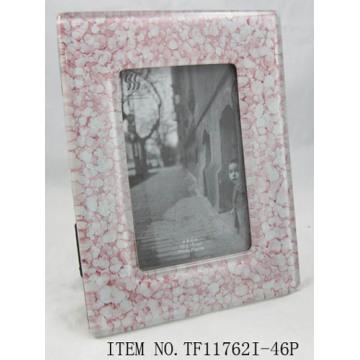 Ornate Fused Glass Photo Frame