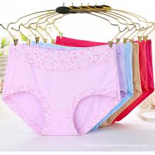 High waist whosale sexy women panties flower pattern ladies sexy underwear new cotton underwear
