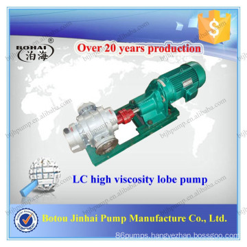 Botou Jinhai LC series stainless steel lobe pump price