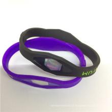 2016 pulsera de pulsera popular popular de calidad superior del silicón