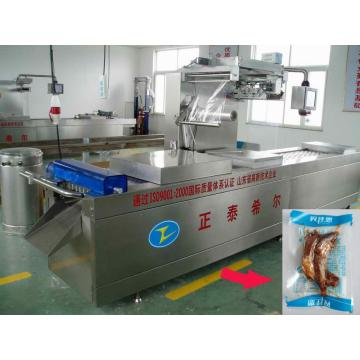 Automatik Seafood Vacuum Mesin Skin Packaging