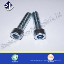 made in china coarse and fine thread hex socket screw price