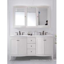 Деревянный главный шкаф зеркальный современный шкаф ванной комнаты (ин-8819717D)