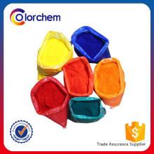 Fluoreszierendes Pigment, Textilfluoreszenzpigment, fluoreszierende Plastikpigmente