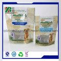 Kunststoff-Folie Lebensmittelverpackung mit Reißverschluss für Tierfutter Lebensmittelverpackung