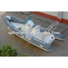 barco inflável rígido hypalon HH-RIB520 com CE