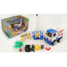 Carro do brinquedo do rc do conluio dos desenhos animados