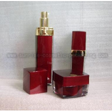 Square Shape Lotion Bottles L050D
