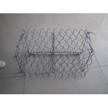 Rede de fio hexagonal galvanizada