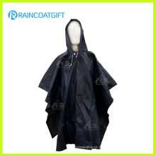 Impresión a todo color de adulto PVC Rain Poncho Rvc-185