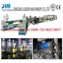 Maquinaria de fabricación de placa de espuma de plástico PP
