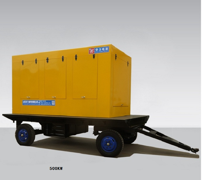 500KW CUMMINS mobile generator set
