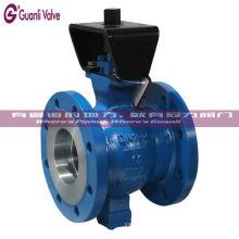 CF8 CF8M WCB V robinet à tournant sphérique pour le traitement de l'eau