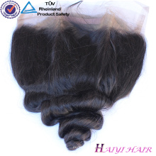Reines brasilianisches Haar Straight Style brasilianische 360 Spitze frontal Haar mit Bundles