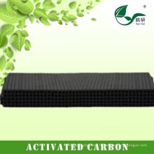 Charbon actif de nid d'abeilles, filtre de charbon actif, purification d'air de charbon actif