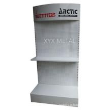 Équipement métallique d'outils Exposition Pegboard Display Rack