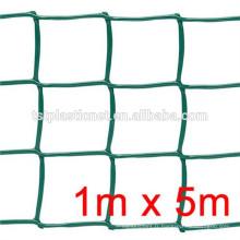 Fil plat en plastique / vert couleur PP / HDPE hexagonal en plastique plat maille pour l'agriculture prix