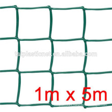 plastic flat netting /Green color PP/HDPE hexagonal plastic flat mesh for agriculture price