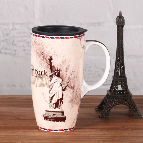 Magnesia latte discoloration travel mug