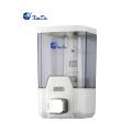 Distribuidor automático de sabão tipo espuma para vasos sanitários