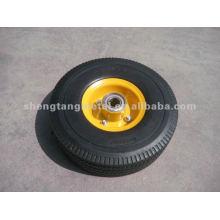 Unité centrale en caoutchouc roues FP1001 10 * 3,50-4