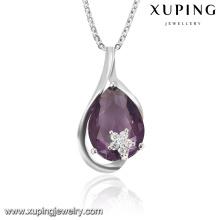 31673 Pendentif à chaîne de bijoux en cristal de mode en Rhoudium