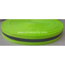 5cm fluorescence yellow reflective ribbon