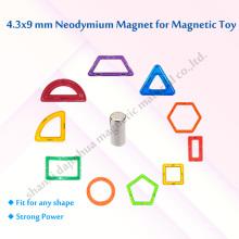 Игрушечные магниты D4.3 * 9мм Стандарт N35 класса 4000GS
