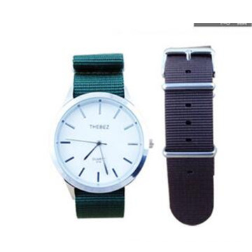 Yxl-781 18mm 20mm 22mm Militär Nylon Armbanduhr Band Strap für Uhr Edelstahl Gürtelschnalle